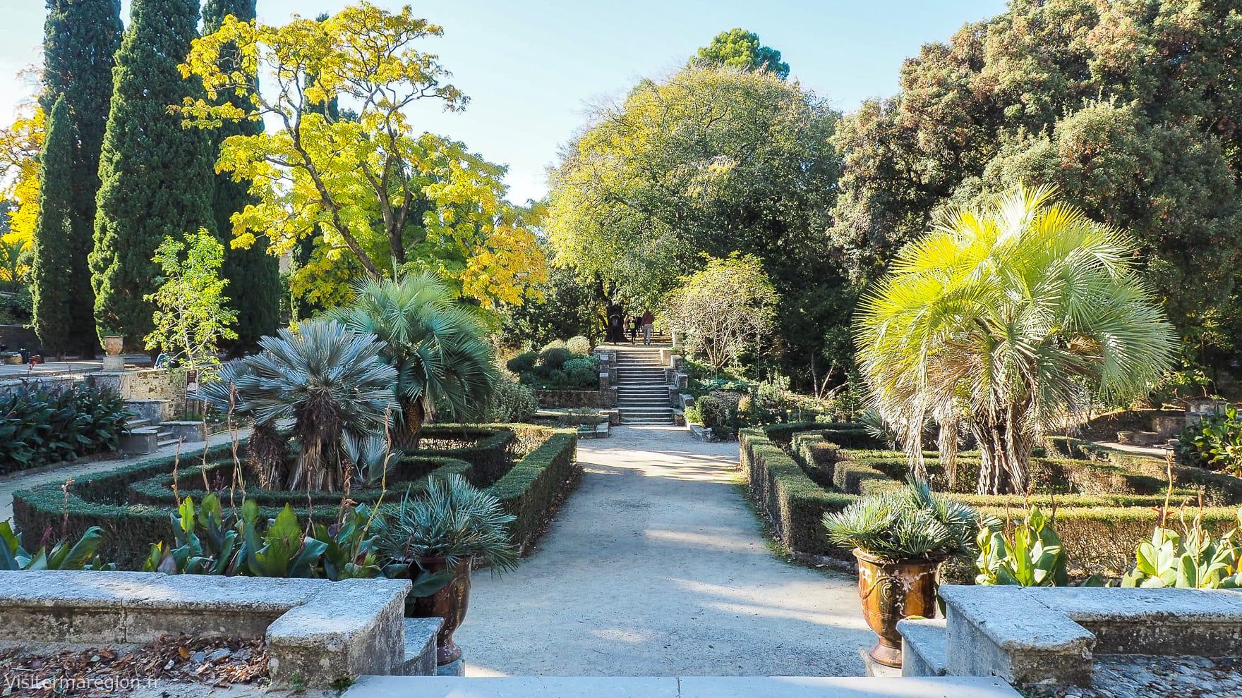 Jardin des plantes (Botanique) de Montpellier - Horaires