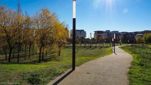 Parc Georges Charpak Montpellier 16