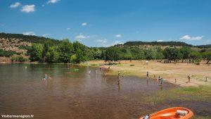 Baignade Au Lac Du Salagou Clermont Lherault 5
