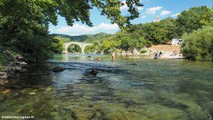 Baignade Au Pont De Saint Etienne Dissensac Brissac 2