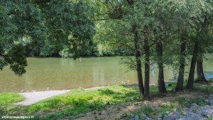 Baignade Au Pont Suspendu Saint Bauzille De Putois 4
