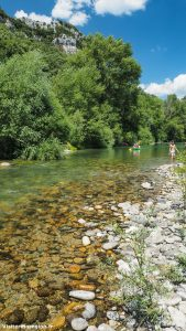Baignade Dans Les Gorges De Lherault A Saint Bauzille De Putois 4